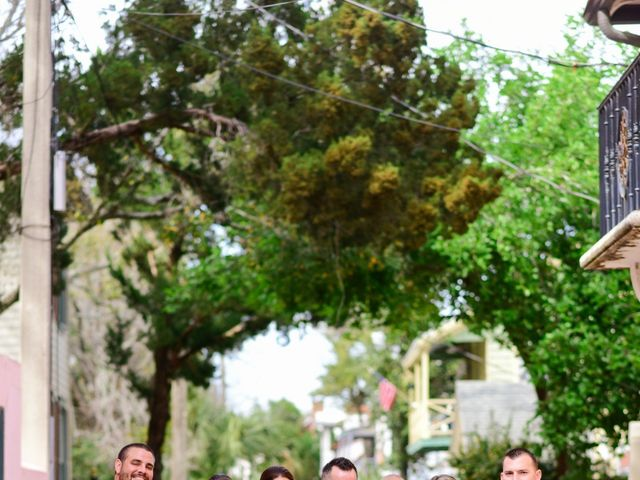 A.J. and Rochelle's Wedding in Saint Augustine, Florida 13