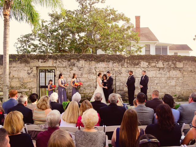 A.J. and Rochelle's Wedding in Saint Augustine, Florida 16