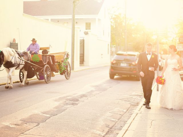 A.J. and Rochelle's Wedding in Saint Augustine, Florida 24