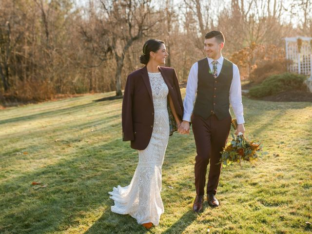 Nigel and Mackenzie's Wedding in Princeton, Massachusetts 10