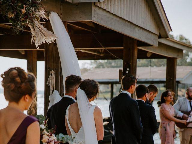 Logan and Mariah's Wedding in Huddleston, Virginia 23