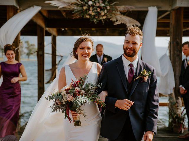 Logan and Mariah's Wedding in Huddleston, Virginia 24