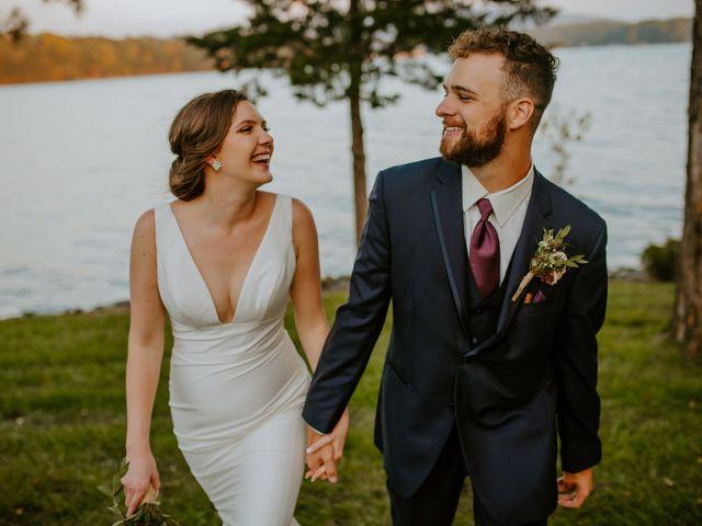 The wedding of Mariah and Logan