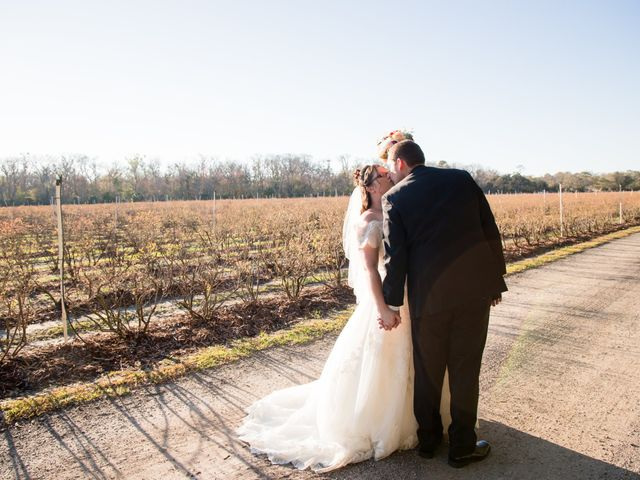 Christin and Jacob's Wedding in Mims, Florida 8