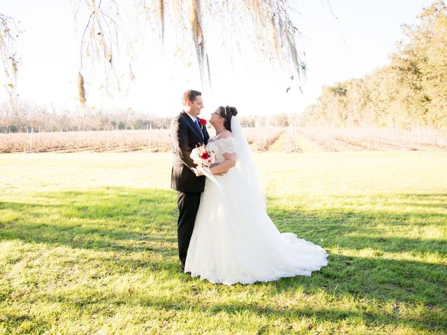 Christin and Jacob's Wedding in Mims, Florida 9