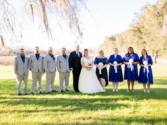 Christin and Jacob's Wedding in Mims, Florida 10