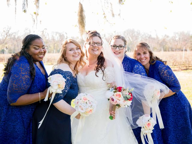 Christin and Jacob's Wedding in Mims, Florida 12