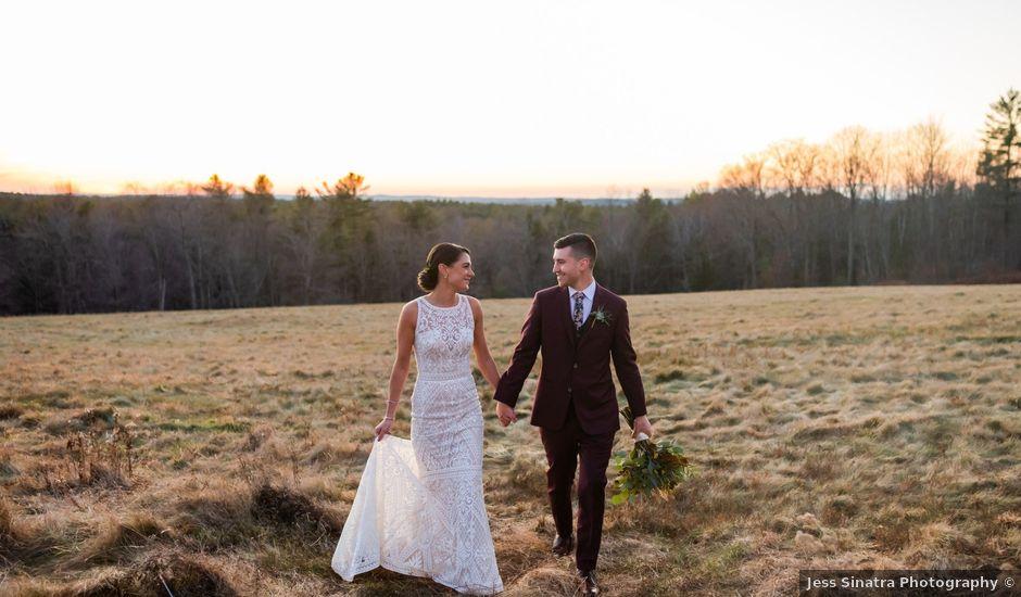 Nigel and Mackenzie's Wedding in Princeton, Massachusetts