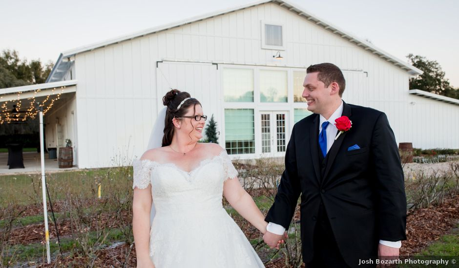 Christin and Jacob's Wedding in Mims, Florida