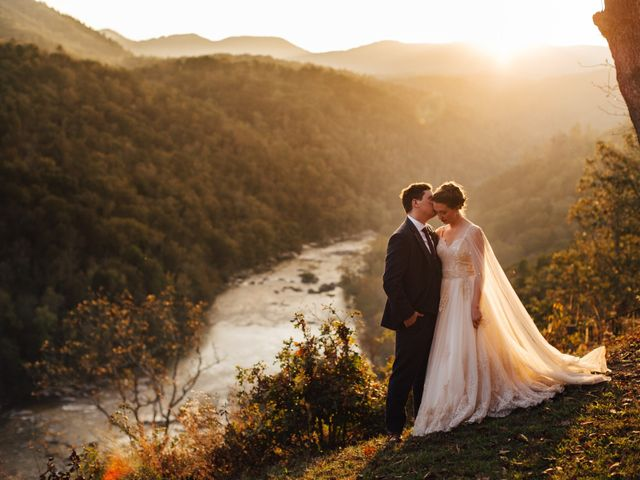 Ian and Annelise's Wedding in Asheville, North Carolina 1
