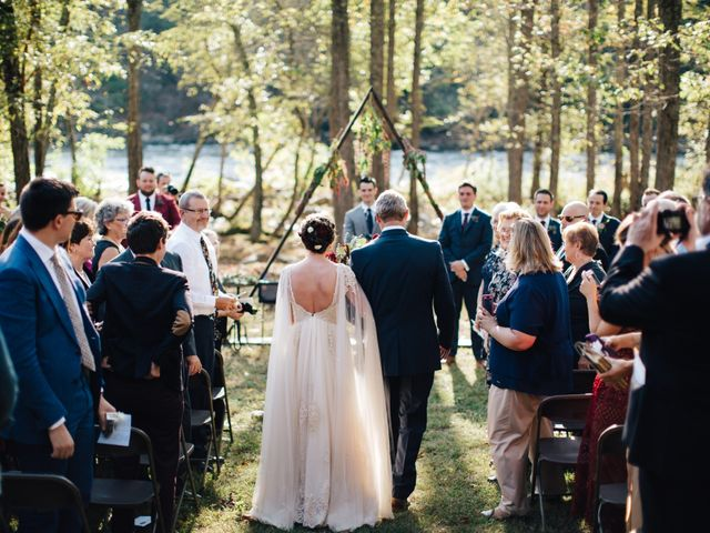 Ian and Annelise's Wedding in Asheville, North Carolina 14