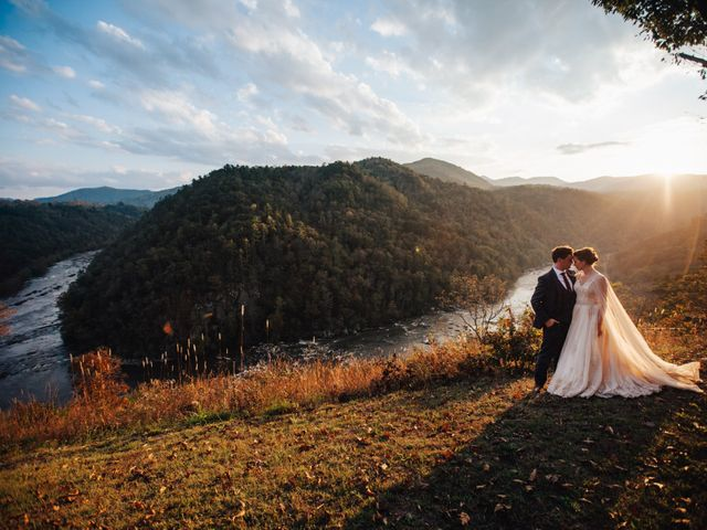Ian and Annelise's Wedding in Asheville, North Carolina 35