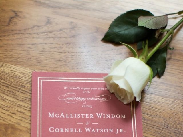 McAllister and Cornell's Wedding in Raleigh, North Carolina 1