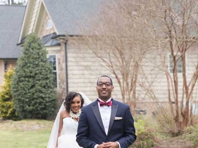 McAllister and Cornell's Wedding in Raleigh, North Carolina 6