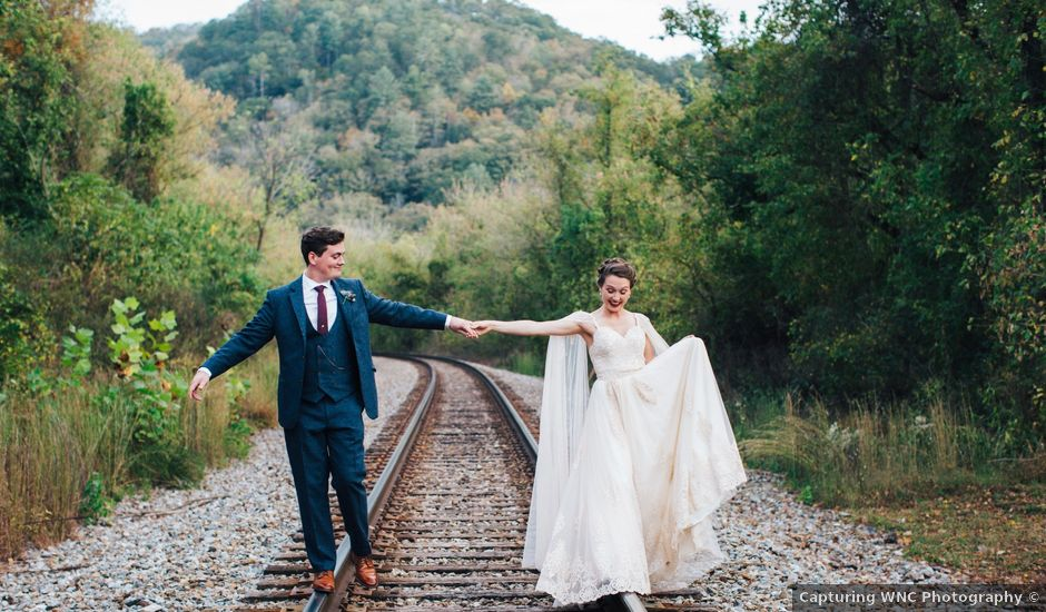 Ian and Annelise's Wedding in Asheville, North Carolina