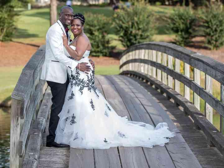 The wedding of Collin and Cassundra