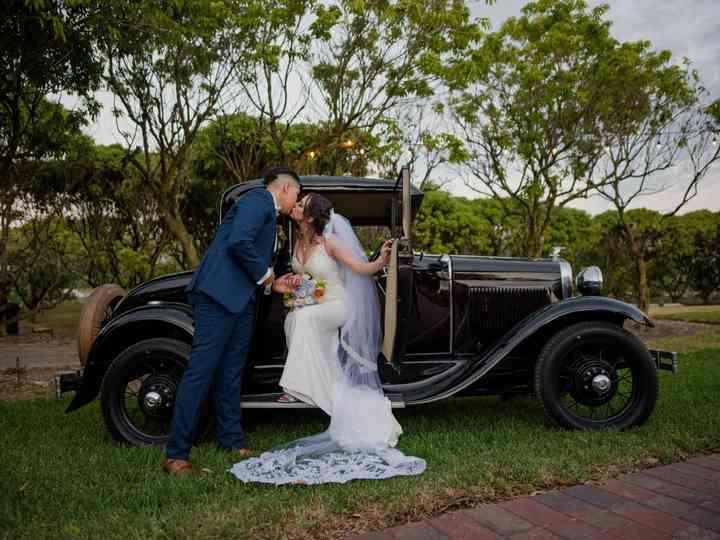The wedding of Keiry and Daniel