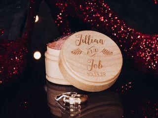 The wedding of Jillian  and Job 1