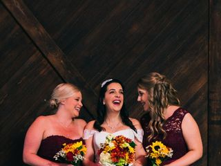 The wedding of Jillian  and Job 2