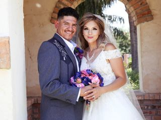 The wedding of Analisa and Victor
