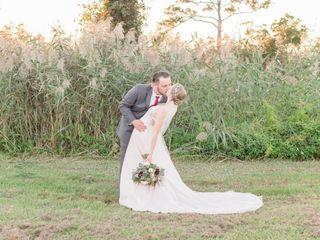 The wedding of Delandra and Frank