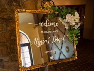 The wedding of Alyssa and Dan 1