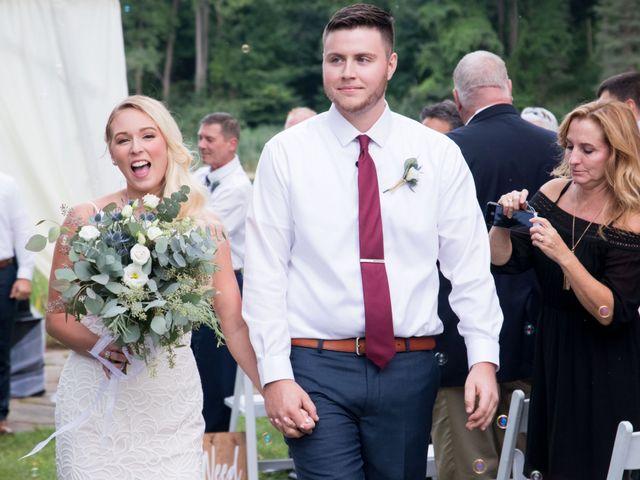 The wedding of Kristen and Jon