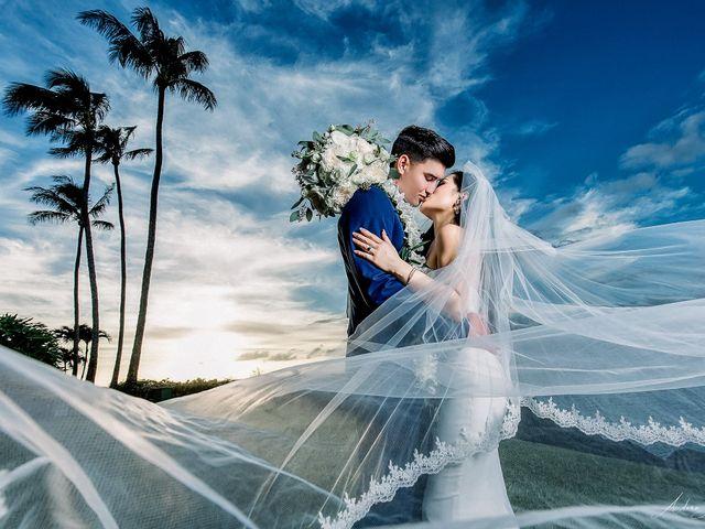 The wedding of Christine and Matthew
