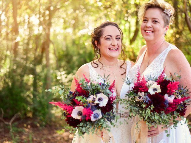 The wedding of Christy and Tina