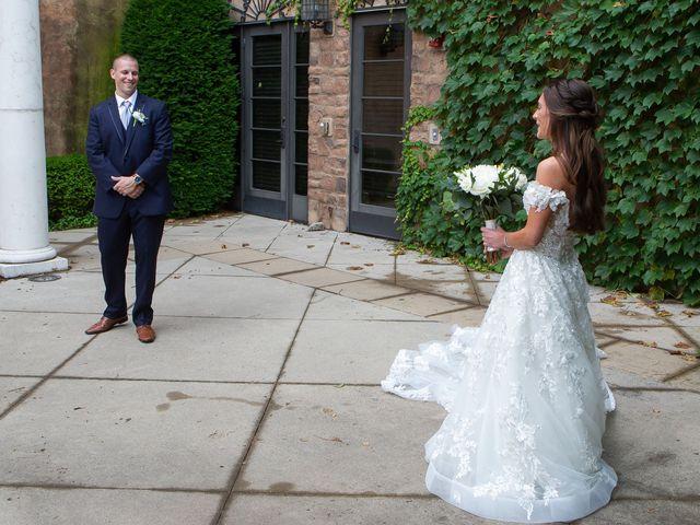 The wedding of Alyssa and Dan