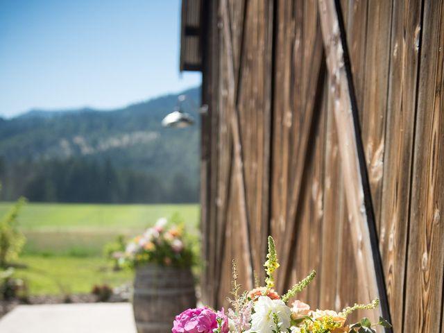Kevin and Jessalin's Wedding in White Salmon, Washington 19