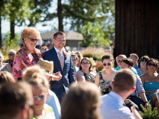 Kevin and Jessalin's Wedding in White Salmon, Washington 21