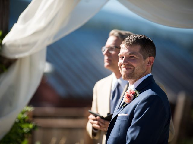 Kevin and Jessalin's Wedding in White Salmon, Washington 22