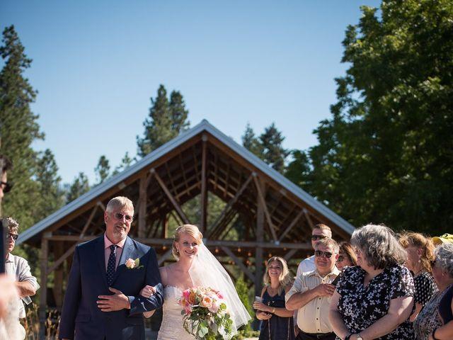 Kevin and Jessalin's Wedding in White Salmon, Washington 23