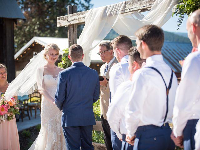 Kevin and Jessalin's Wedding in White Salmon, Washington 25