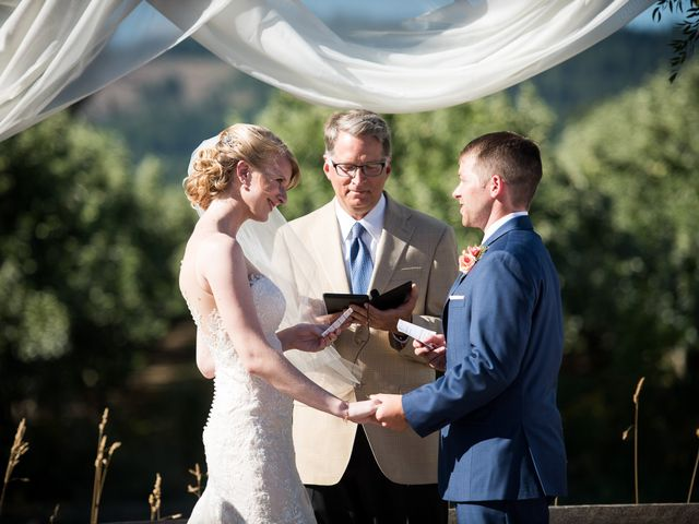 Kevin and Jessalin's Wedding in White Salmon, Washington 26