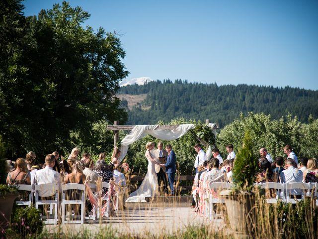 Kevin and Jessalin's Wedding in White Salmon, Washington 27
