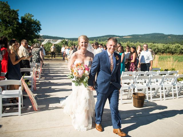 Kevin and Jessalin's Wedding in White Salmon, Washington 29