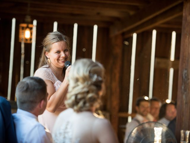 Kevin and Jessalin's Wedding in White Salmon, Washington 40