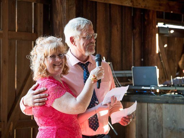 Kevin and Jessalin's Wedding in White Salmon, Washington 41