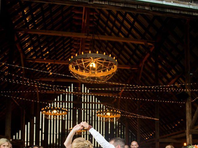 Kevin and Jessalin's Wedding in White Salmon, Washington 45