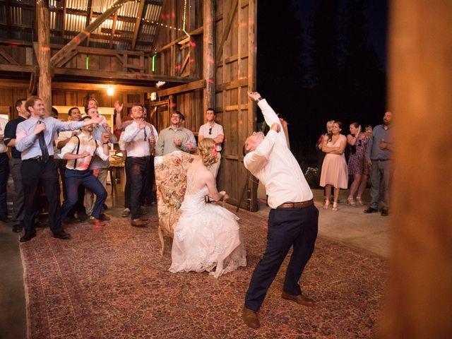 Kevin and Jessalin's Wedding in White Salmon, Washington 50