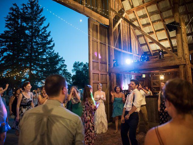Kevin and Jessalin's Wedding in White Salmon, Washington 51