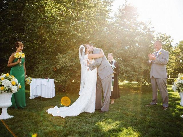Kristin and Eric's Wedding in Brewster, Massachusetts 9