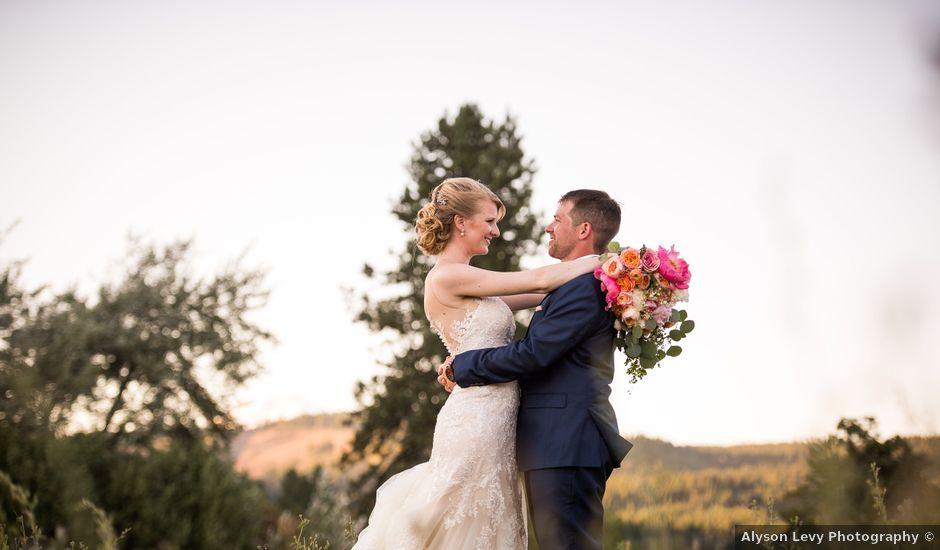 Kevin and Jessalin's Wedding in White Salmon, Washington