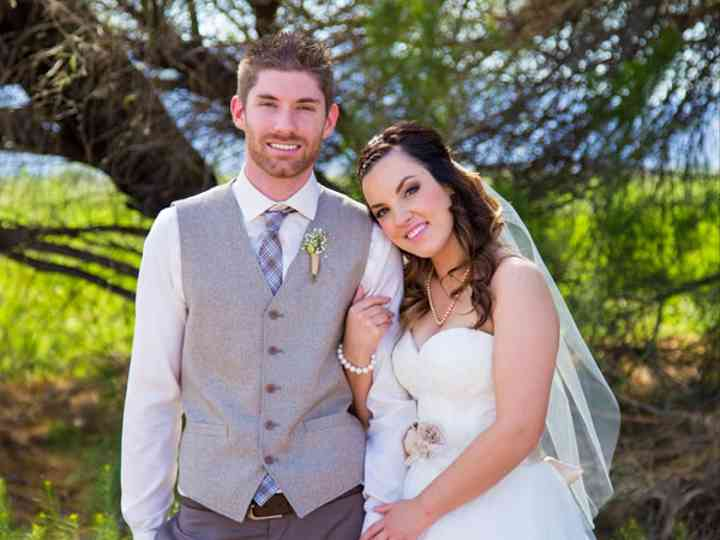 The wedding of Anthony and Kayla