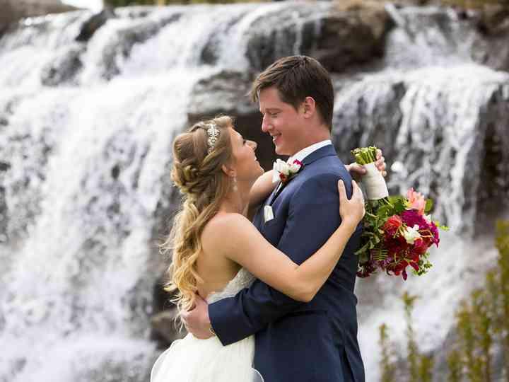 The wedding of David and Ashley