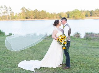 The wedding of Hannah and Matthew