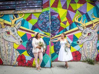 The wedding of Mara and Gloria