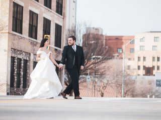 The wedding of Mac and Abby